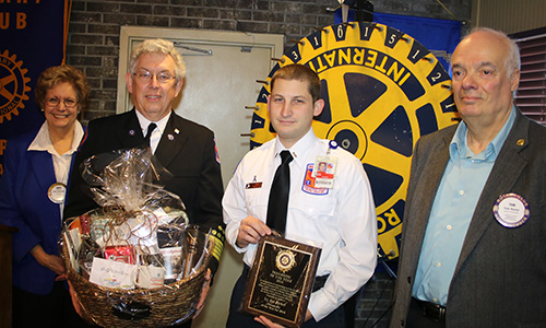 award winner from Dorchester County EMS