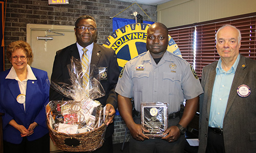 award winner from the Dorchester County Sheriff's office