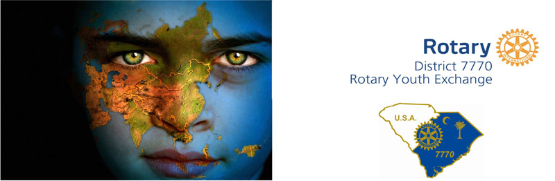 banner for Rotary Youth Exchange