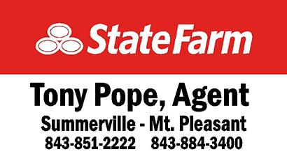 tony pope state farm