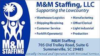 M&M Staffing sponsorship